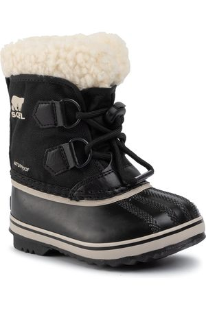 sorel Bottes de neige - Childrens Yoot Pac Nylon NC1962 Black 010
