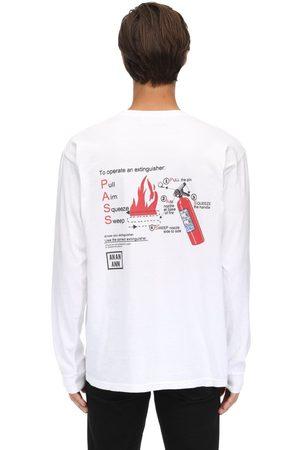 AN AN ANN T-shirt En Coton À Manches Longues
