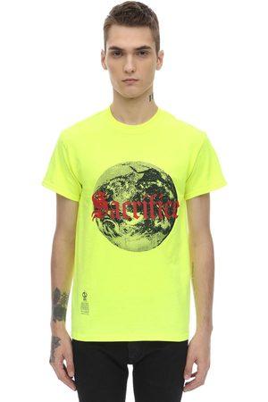"""DARKOVELI T-shirt En Jersey De Coton """"sacrifice"""""""