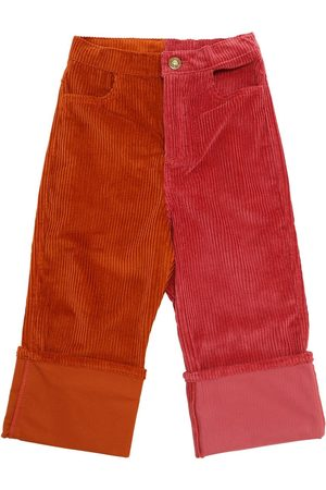 Oscar de la Renta Fille Pantalons - Pantalon En Coton Côtelé