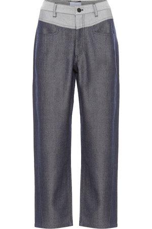 Colovos Pantalon en laine mélangée