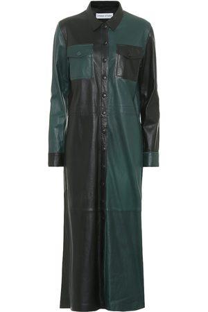 Stand Studio Robe chemise Alte en cuir