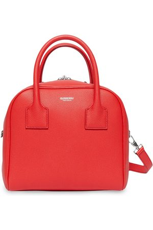 Burberry Femme Sacs bowling - Small Leather Cube Bag