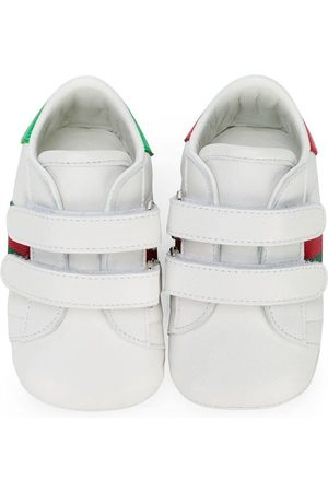 Gucci Baskets à fermeture à scratch