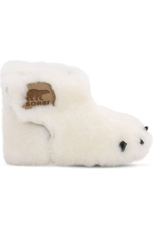 "sorel Bottes En Shearling ""bear"""