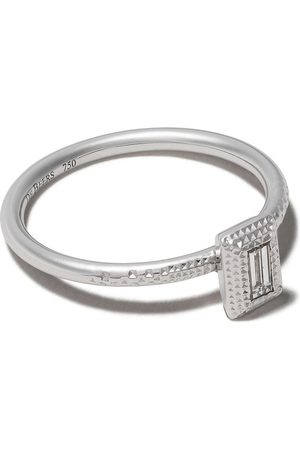 De Beers Bague Talisman en or blanc 18ct orné de diamants