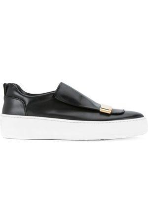 Sergio Rossi Chaussures de skate à applique métallique