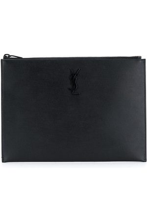 Saint Laurent étui à iPad à logo