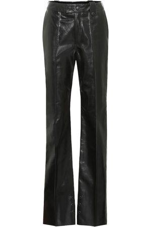Kwaidan Editions Femme Pantalons en cuir - Pantalon en cuir synthétique