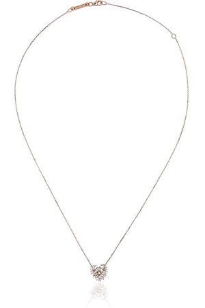 Suzanne Kalan Collier en or 18ct à pendentif cœur serti de diamant