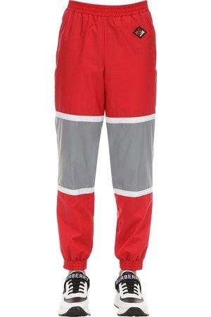 Burberry Pantalon De Survêtement En Coton Mélangé