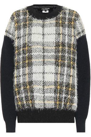 JUNYA WATANABE Pull en laine mélangée à carreaux