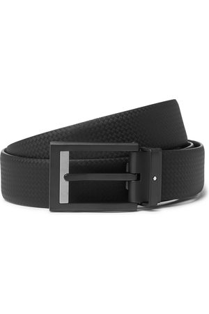 Mont Blanc Homme Ceintures - 3cm Textured-Leather Belt