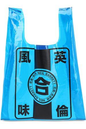 Neil Barrett Tote Bag En Pvc Imprimé