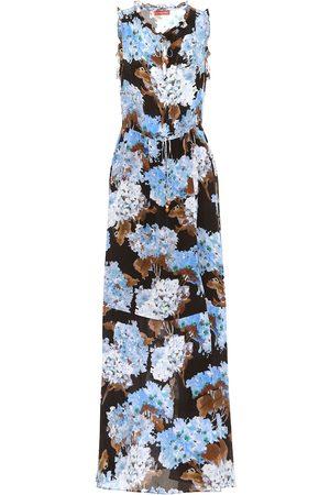 Altuzarra Exclusivité Mytheresa – Robe longue Otis imprimée en soie