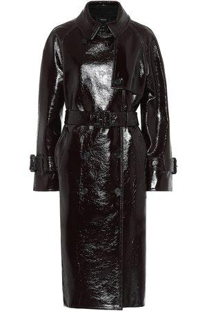 Joseph Trench-coat en laine mélangée enduite