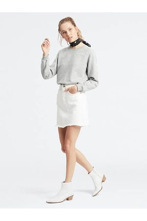 Levi's Deconstructed Skirt / Pearly White