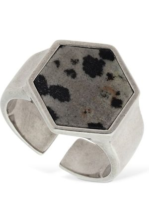 "Isabel Marant Bague Hexagonale ""golden Mother"""