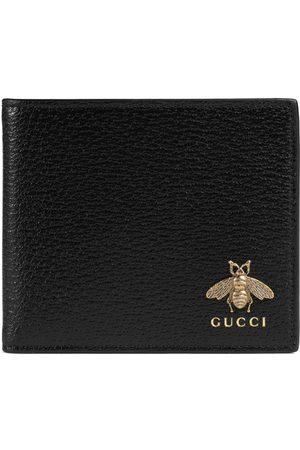 Gucci Homme Portefeuilles - Portefeuille avec porte-monnaie Animalier en cuir