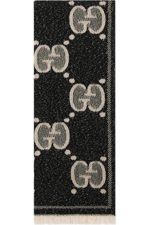Gucci Écharpe en jacquard de laine GG