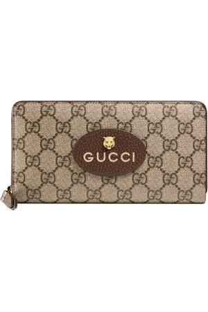 Gucci Portefeuille zippé Neo Vintage GG Supreme