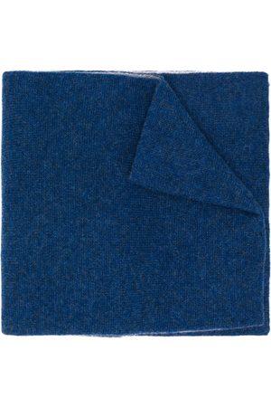 DELL'OGLIO écharpe bicolore en cachemire