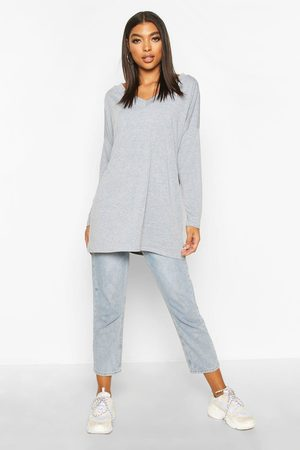 Boohoo Top Oversize À Manches Longues Tall