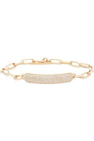 Lizzie Mandler Bracelets - Bracelet nominatif 18 carats et diamants OD ID