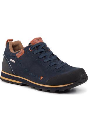 CMP Homme Chaussures de randonnée - Chaussures de trekking - Elettra Low Hiking Shoe Wp 38Q4617 Black Blue N950
