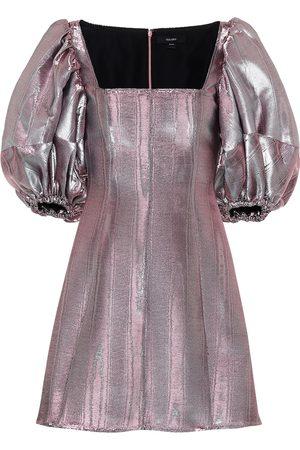 Ellery Robe Lady D'arbanville en coton mélangé métallisé