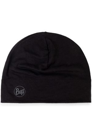 Buff Bonnet - Lightweight Mering Wool Hat 113013.999.10.00 Solid Black