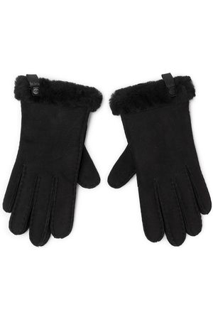 UGG Gants - W Shorty Glove W Leather Trim 17367 Black