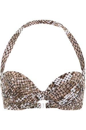Norma Kamali Exclusivité Mytheresa – Haut de bikini Bill imprimé