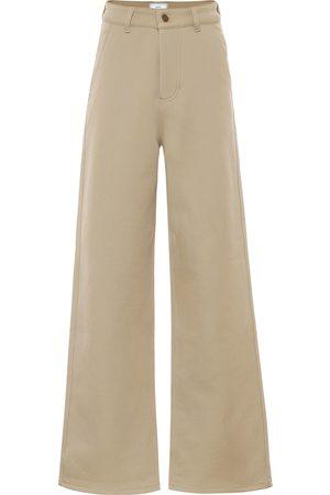 Ami Pantalon en laine mélangée