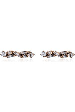 Suzanne Kalan Boucles d'oreilles ornées de diamants