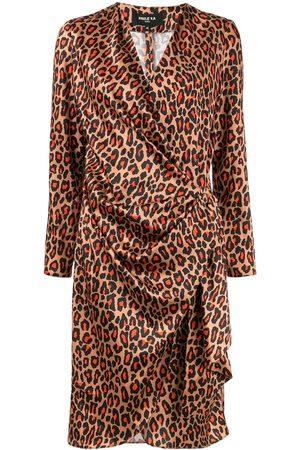 Paule Ka Robe portefeuille à imprimé léopard