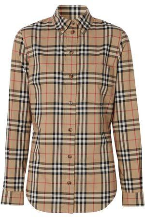 Burberry Vintage Check button-down shirt