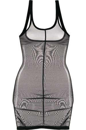 Wolford Robe structurée en tulle