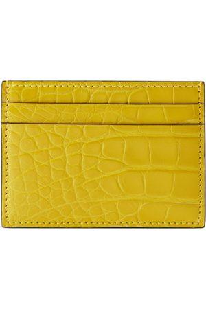 Gucci Porte-cartes en crocodile