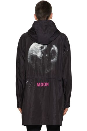 "VALENTINO Parka En Nylon ""moon Dust"""