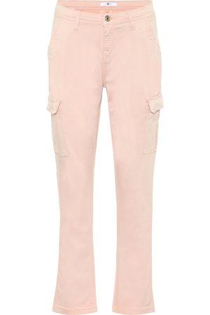 7 for all Mankind Pantalon en coton mélangé