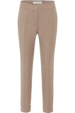 Etro Pantalon droit en laine mélangée