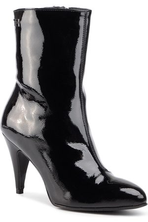 Tommy Hilfiger Bottines - Elevated Patent Bootie FW0FW04674 Black BDS