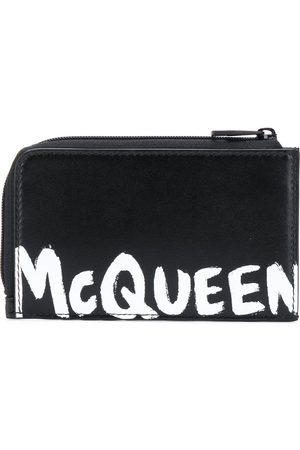 Alexander McQueen Porte-monnaie à logo imprimé