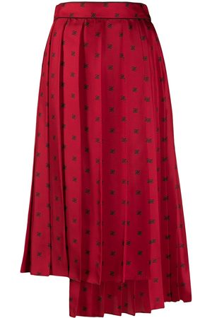 Fendi FF Karligraphy pleated skirt