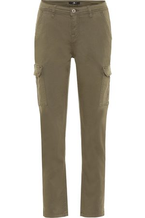 7 for all Mankind Pantalon cargo en coton mélangé