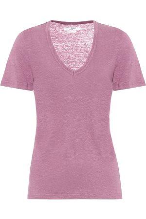 Isabel Marant, Étoile T-shirt Krangen en lin