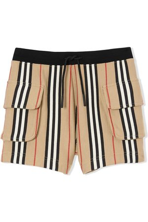 Burberry Shorts - Short à rayures Icon