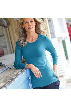 Colors & co Tee-shirt col rond viscose stretch