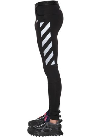 OFF-WHITE Tech Running Leggings
